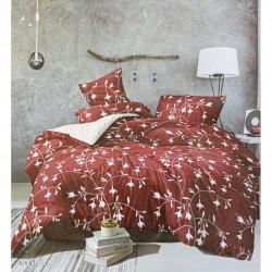 Lenjerie de pat cu 6 piese din bumbac finet 250 x 230 cm LP6PF-16