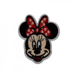Minnie-Mouse-brodata 5.5x6.5cm