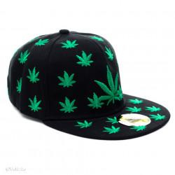 Șapcă Marijuana neagră