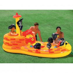 Spațiu de joacă gonflabil model Pirate Ship 163 x 305 x 152 cm marca Intex poza 2