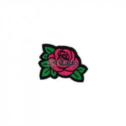 Trandafir brodat 7x5.5cm