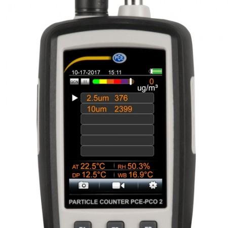 Numaratorul de particule PCE-PCO2