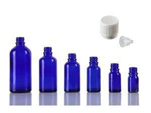 Sticla albastra picuratoare 10 ml