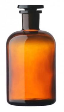 Sticla bruna cu dop rodat 100 ml