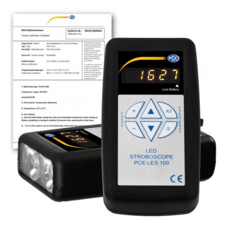 Stroboscop PCE-LES100 cu certificat