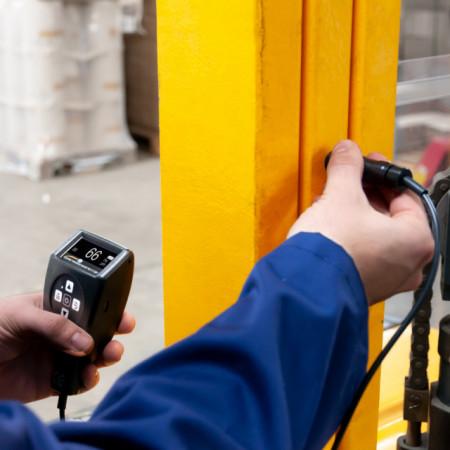 Aparat pentru masurare grosime strat de vopsea PCE-CT23BT certificat