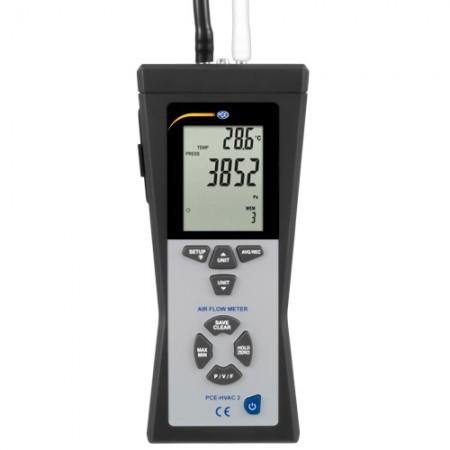 Debitmetru anemometru manometru termometru cu tub Pitot PCE-HVAC 2