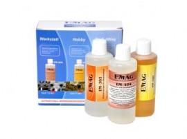 Set solutii curatare ultrasunete EM300 EM303 EM404
