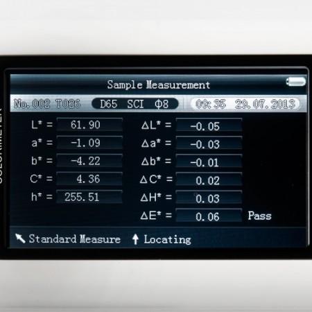 Colorimetru spectrometru PCE-CSM7