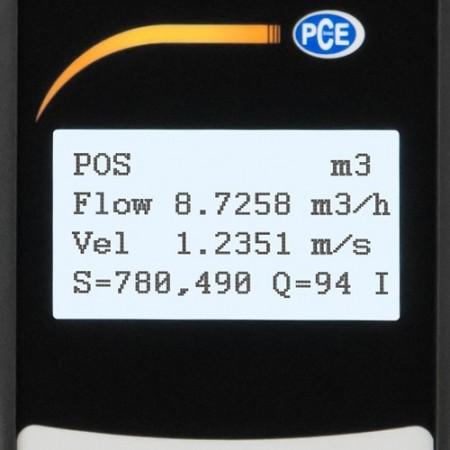 Debitmetru cu ultrasunete PCE-TDS 100H