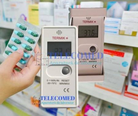 Termohigrometru Termikplus cu certificat de etalonare inclus