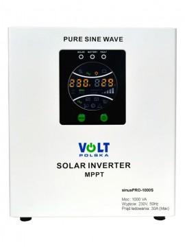 UPS invertor sinus pur 12V, 700 Watt, incarcator solar 30A MPPT inclus