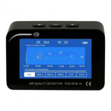 Aparat pentru indicele calitatii aerului PCE-RCM16