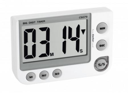 cronometru cu alarma vizuala si memorie