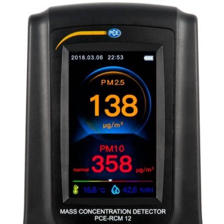 Detector multifunctional de CO2, formaldehida, praf, PCE-RCM12