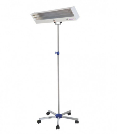 Lampa bactericida 2x30W cu stativ mobil