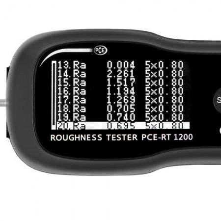 Rugozimetru PCE-RT 1200