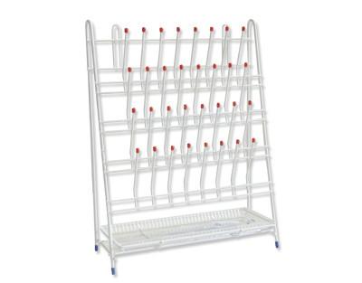 Stativ uscare sticlarie de laborator 32 locuri