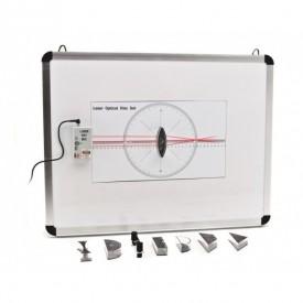 Trusa didactica experimente fizica OPTICA GEOMETRICA pe tabla magnetica