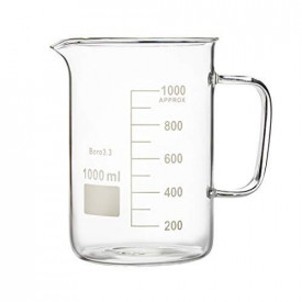 Pahar Berzelius 1000 ml sticla boro 3.3 cu toarta