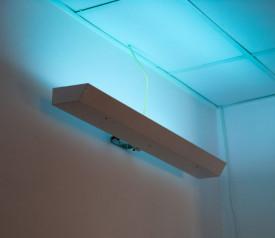 Lampa UV bactericida 2x55W de perete