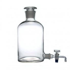 Vas pentru apa distilata cu robinet si dop rodat 5000 ml