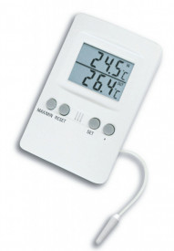 Termometru pentru frigider si congelator cu alarma