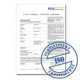 PH-metru pentru vin si bere cu certificat de calibrare ISO PCE-PH20WINE