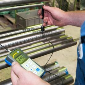 Tester de duritate PCE900-ICA inclusiv certificat de calibrare ISO