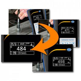 Durometru PCE-2000N cu certificat de calibrare ISO