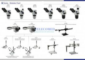 Stereomicroscop binocular cu zoom 6.5-55x SZX-BA