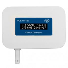 Termohigrometru data logger ethernet PCE-HT420