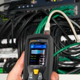 Aparat de măsurare a lungimii cablului PCE-CLT10