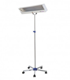 Lampa bactericida 2x55W cu stativ mobil