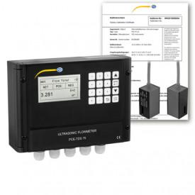 Dispozitiv de măsurare a debitului PCE-TDS75 cu certificat de calibrare ISO