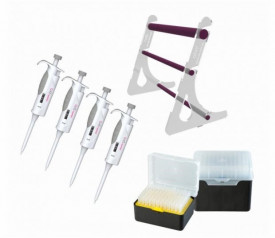 Set 4 micropipete AHN pipet4u starter kit 1