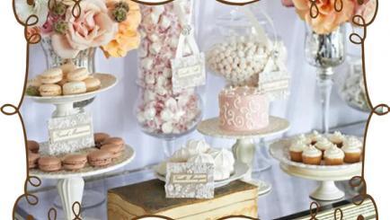 Candy bar-ul vintage – Alegerea dulce a unui eveniment!