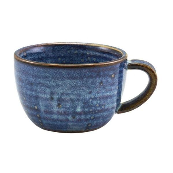 Ceasca cafea Terra Porcelain Aqua Blue 28.5cl CUP-PBL28 - 1