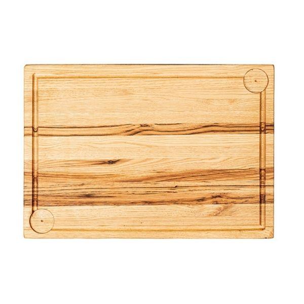 Platou servire lemn 40x28cm KAS020235 - 1
