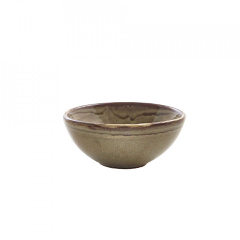 Sosiera Terra Porcelain Grey Organic Ramekin 85ml RAM-PGG3 - 1