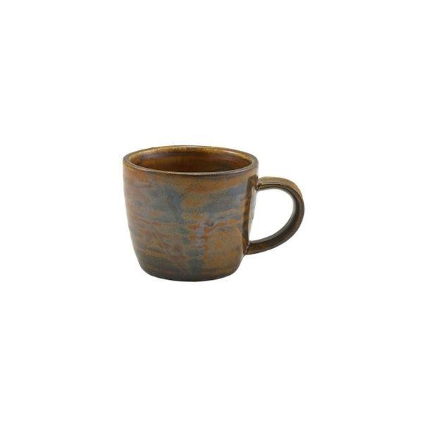 Ceasca espresso Terra Porcelain Rustic Copper 9cl CUP-PRC9 - 1
