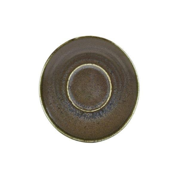 Farfurie ceasca espresso Terra Porcelain Cinder Black 11.5cm SCR-PBK11 - 1