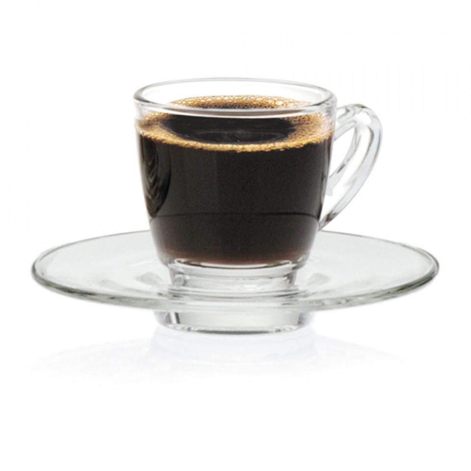 Farfurie espresso sticla Ultimo 11cm G1P01672 - 1