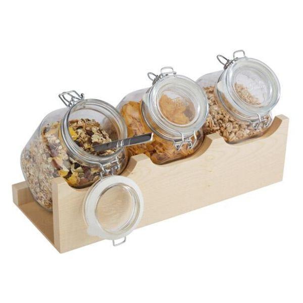 Set borcane ceareale cu suport 13965 - 1