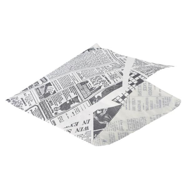 Plic servire hartie cerata jurnal 17.5cm PN1487PBG - 1