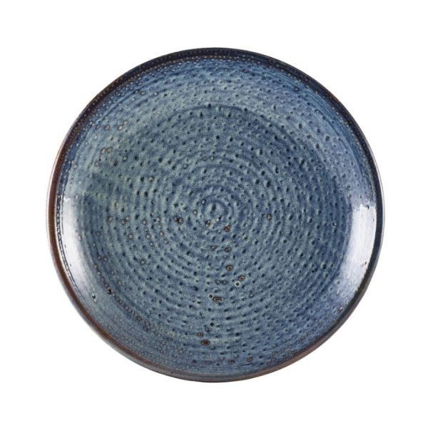 Farfurie adanca Terra Porcelain Aqua Blue 25cm DC-PBL25 - 1