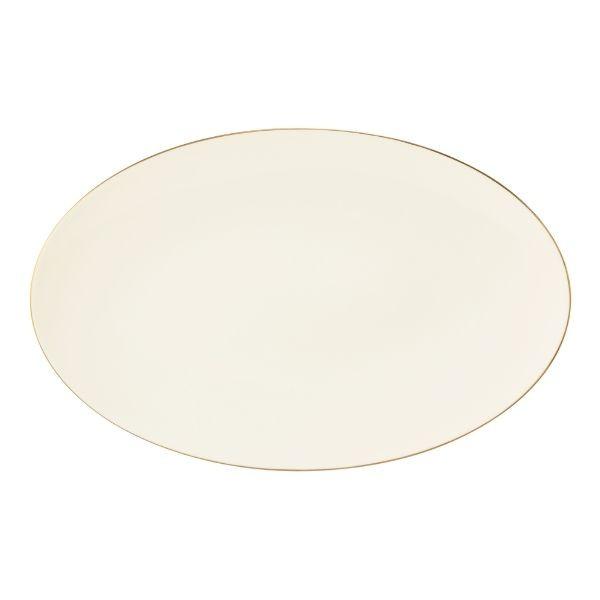 Platou servire oval Medina Gold 40x25cm 756498 - 1
