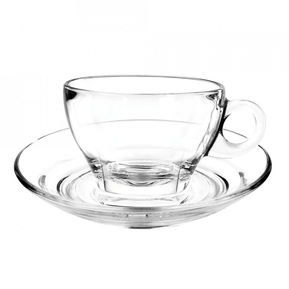 Farfurie cafea sticla 14.5cm G1P02471 - 1
