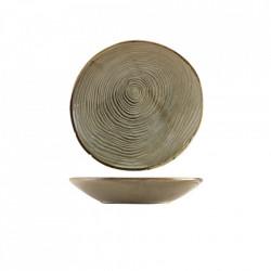 Bol paste organic Terra Porcelain Grey Organicl 21cm CB-PGG21