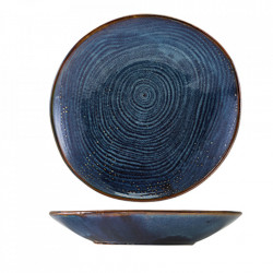 Bol scoici Terra Porcelain Aqua Blue Organic 26cm CB-PBLG26